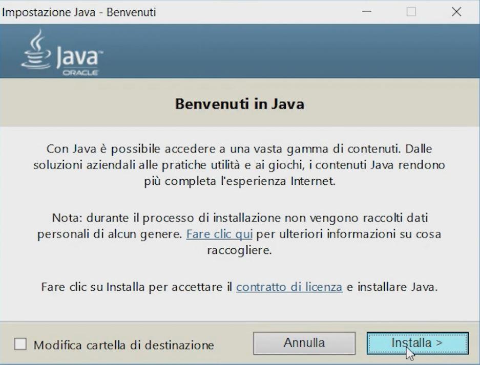 come installare java e configurare jdk su windows 10