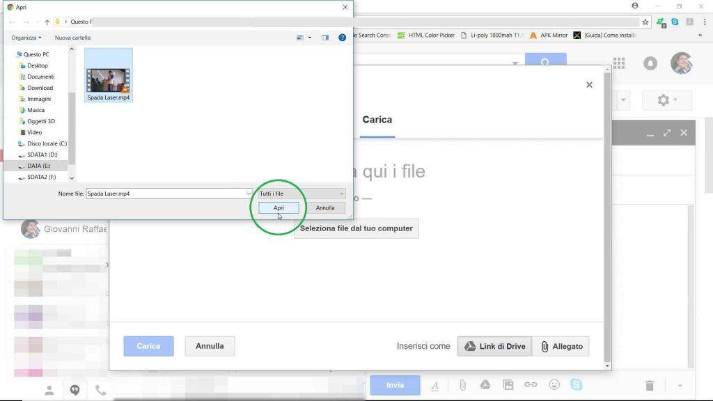 Come inviare file di grandi dimensioni via email
