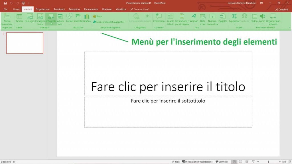 Come fare un power point