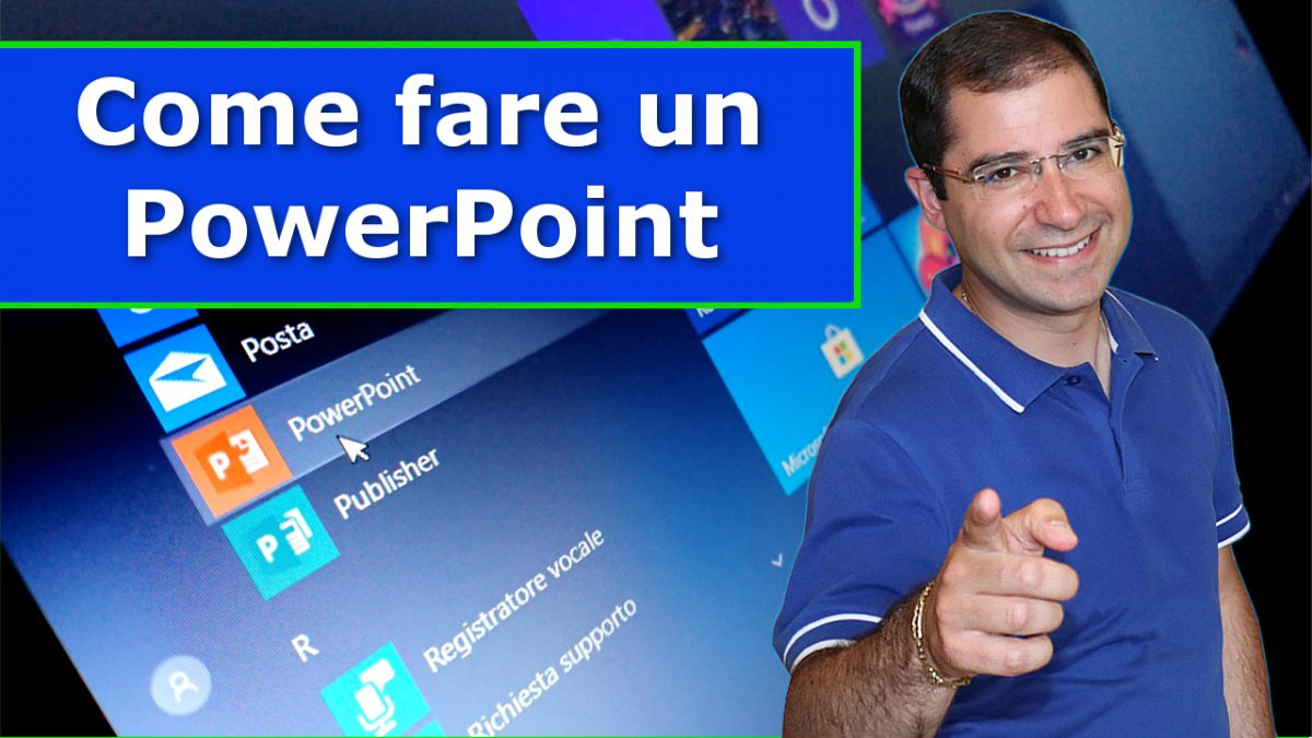 Come fare un power point , concetti di base