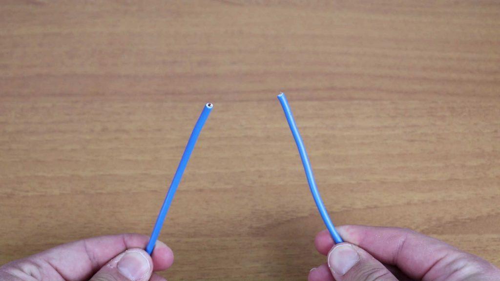 Tecnica Efficace Per Unire Due Fili Elettrici